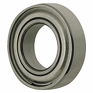 RADIAL BEARING,SHIELDED,BORE 17 MM