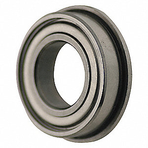 RADIAL BEARING,FLANGED,BORE 12 MM