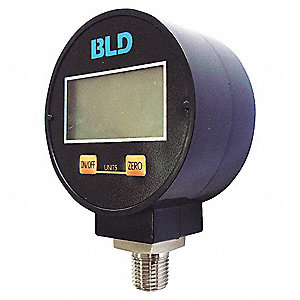 4.5 DIGIT LCD VACUUM GAUGE,30 IN HG