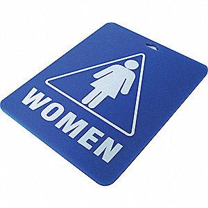RESTROOM KEY TAG,WOMEN
