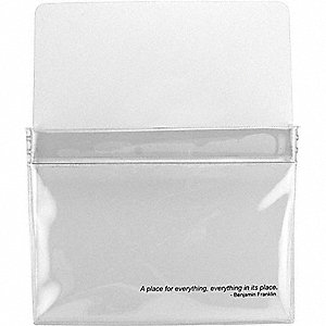 MAGNETIC POUCH,9-1/2 W X 12 H X 5/8