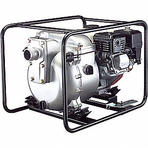 ENGINE TRASH PUMP,4.8 HP