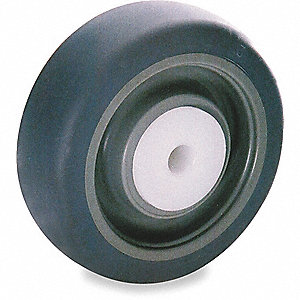 CASTER WHEEL,5 D X 1-1/4 IN. W,200