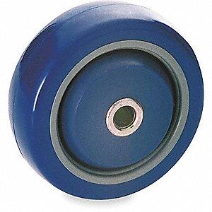 CASTER WHEEL,5 D X 1-1/4 IN. W,250