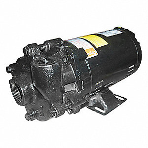 CENTRIFUGAL PUMP,1 HP,3 PH,208-230/