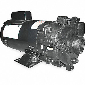 PUMP,CENTRIFUGAL,1 1/2 HP,1 PH, 115
