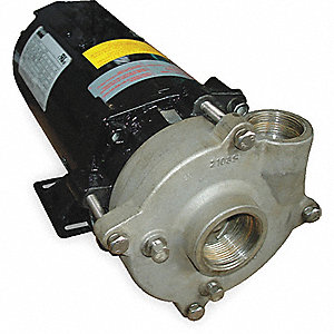 CENTRIFUGAL PUMP,1/2 HP,3 PH,208-23