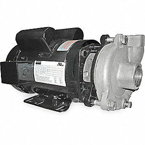 PUMP,CENTRIFUGAL, 2 HP, 1 PH, 115/2