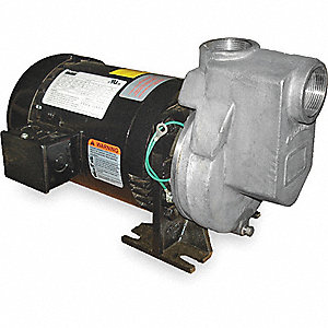 CENTRIFUGAL PUMP, 1 HP, 3 PH, 230/