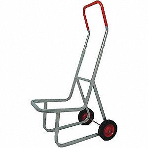 Stacking Chair Truck,240 lb,14-1/2x48