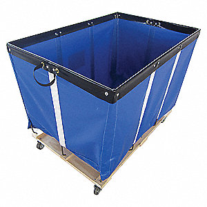 BASKET TRUCK,12 BU. CAP.,BLUE,36 IN