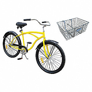 INDUSTRIAL BICYCLE,26 IN,FRONT BASK