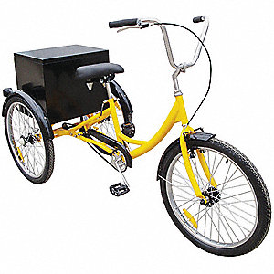 INDUSTRIAL TRICYCLE,24 IN,REAR CABI