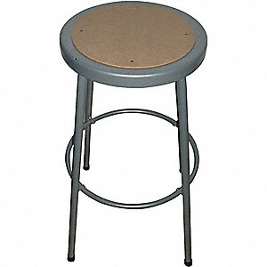 ROUND STOOL,BACKLESS,HARDBOARD SEAT