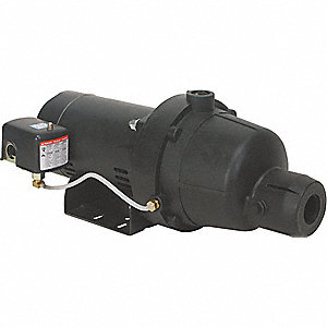 SHALLOW WELL JET PUMP, PLASTIC, 1 1