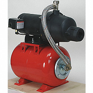 SHALLOW WELL JET PUMP, PLASTIC, 3/4