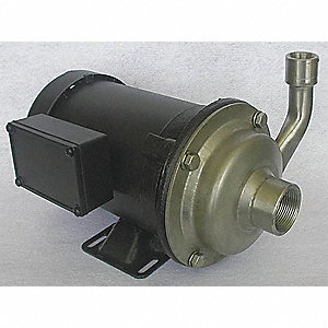 PUMP, 1/2 HP, 208-230/460V, 1.8/0.9
