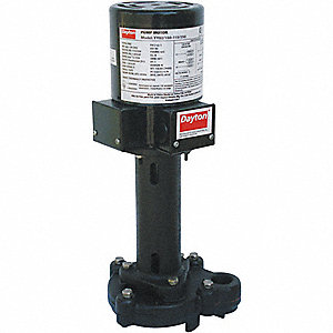 PUMP,COOLANT,1/8HP,115/230V,2.15/1.