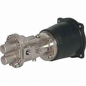 ROTARY GEAR PUMP HEAD, 1/2 IN., 3/4
