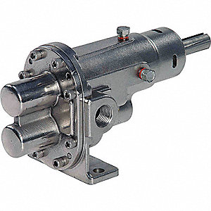 ROTARY GEAR PUMP HEAD, 1 IN., 1 1/2