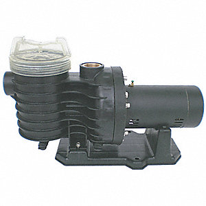 PLASTIC PUMP, 1-1/2 HP,3450,115/230