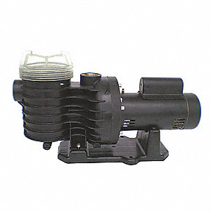 PLASTIC PUMP, 2 HP, 3450, 230V