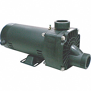 JET TUB PUMP, 1 HP, 3450,115/230V