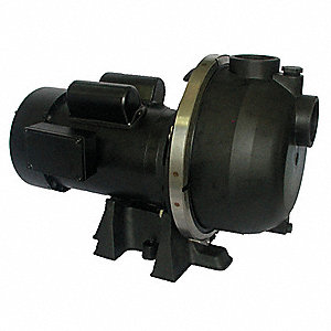 PUMP,CENTRIFUGAL,2 HP, 1 PH