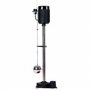 UPRIGHT SUMP PUMP, 1/2 HP