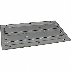PLATE MAGNET,18-1/2 X5 X1-1/4 IN,CE