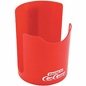 CUP CADDY,MAGNETIC,4-5/8 H X 3-1/4