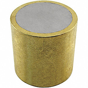 ALNICO SHIELDED MAGNET,0.45 LB. PUL