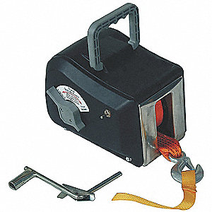ELECTRIC WINCH,WIRE,7-7/8 IN. H