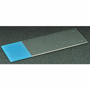 MICROSCOPE SLIDE,BLUE,COLORFROST+,P