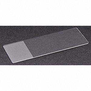 MICROSCOPE SLIDE,WHITE,PK 72