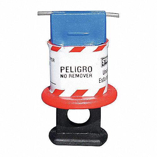 Bloqueo p/Interruptores,p/16mm,Azul