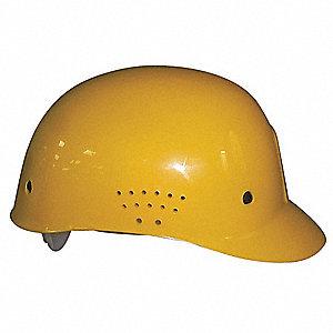 CAP BUMP VENTED PPE PINLOCK YELLOW