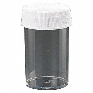 JARS W/CAP,250ML,PMP,PK 12