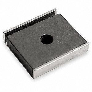 CHANNEL MAGNET,7 LB,1 X 0.875,PK 2