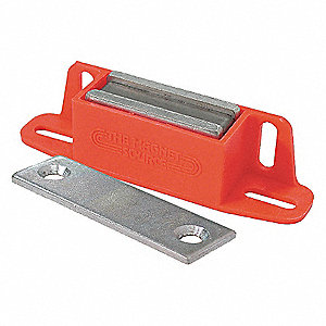 LATCH MAGNET W/LATCH PLATE,50 LB