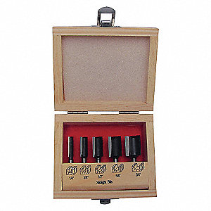 ROUTER BIT SET,5 PC
