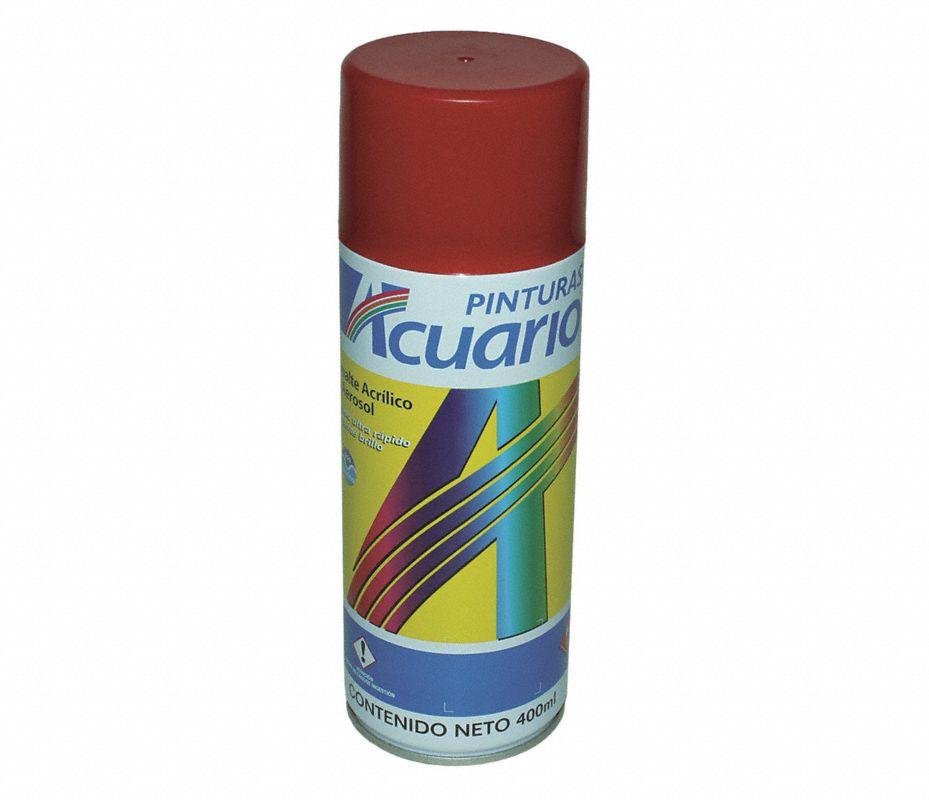 Pinturas acuario esmalte acr aerosol rojo bermellon 400ml - Pintura con spray ...