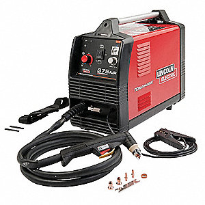 Plasma Cutter and Air Compressor, Tomahawk 375 Air Series, Input Voltage: 208/230V