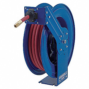 HOSE REEL,SPRING RETURN,3/4IN ID X