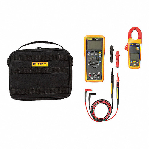 Kit Inalámbrico de Multímetro de Gancho de CA, Instrumentos de Prueba Incluidos Multímetro de Gancho, Multímetro Digital