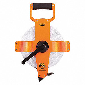 MEASURING TAPE,200 FT/60M,FT/10TH/1