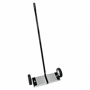 MAGNETIC SWEEPER,80 LB,16-1/2 IN.W