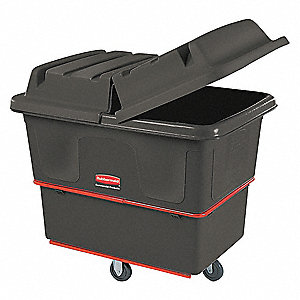 Black Cube Truck, 11.9 cu. ft. Capacity, 800 lb. Load Capacity