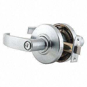 Lever, Mechanical, Not Keyed, Cylindrical, Commercial
