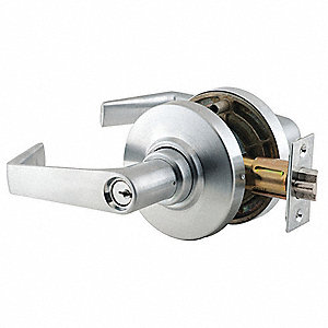 Lever, Mechanical, Different Key Type, Cylindrical, Commercial